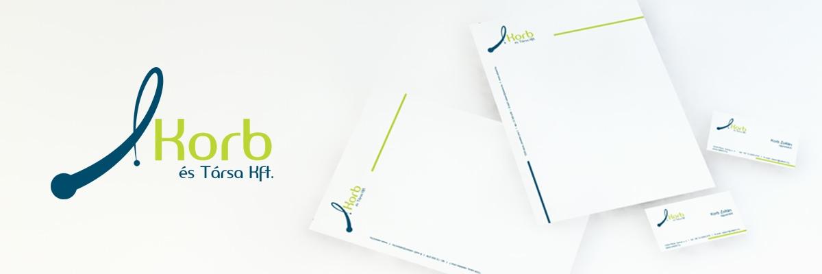 Korb és Társa Kft. - arculattervezés