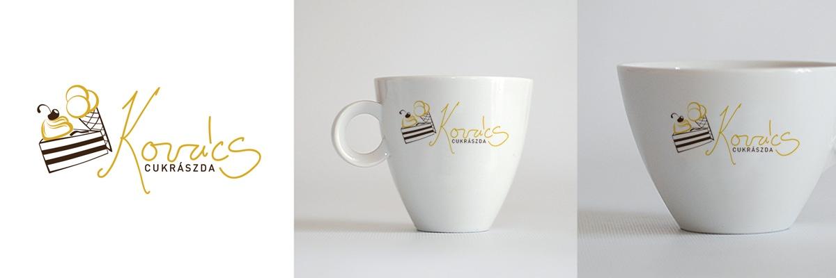 Kovács cukrászda - logo