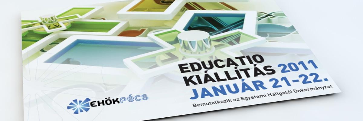 Pécsi Tudományegyetem EHÖK - Educatio kiállítás kiadványa