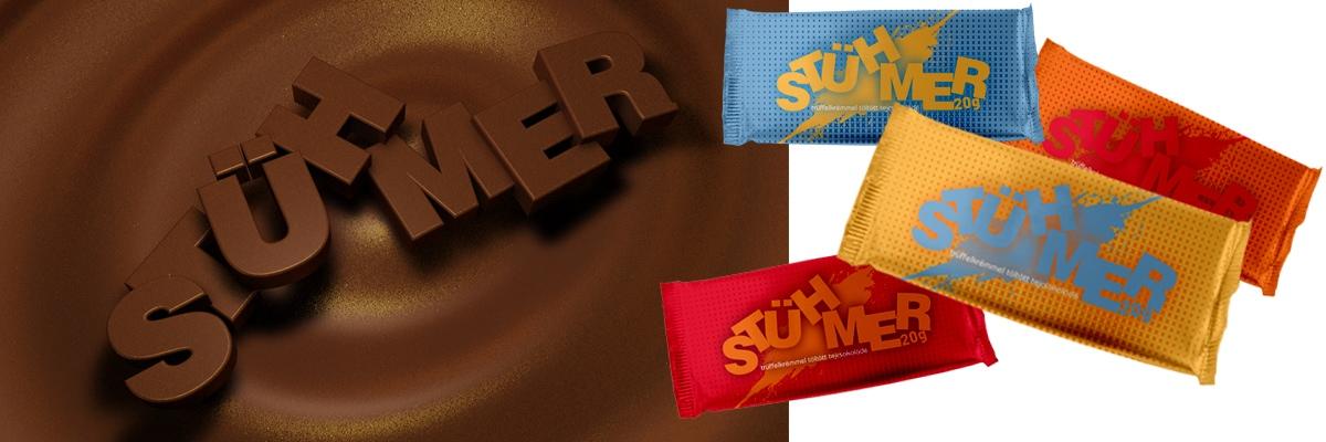 Stühmer - csokoládé csomagolás